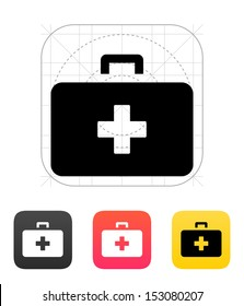 Medical Case icon. Vector illustration.