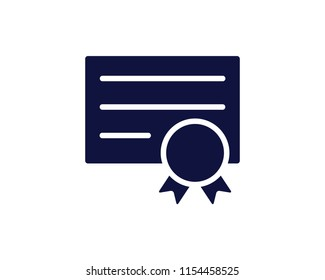 medical certified icon design round illustration,glyph style design, designed for web and app