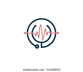Medical Clinic Logo Design Template Element