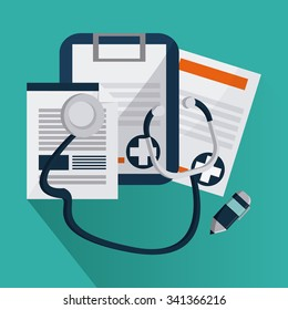 Medical concept about helthy icons design, vector illustration 10 eps graphic., Vector design