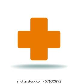 Medical cross. icon