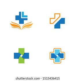Medical cross icon vector illustration