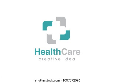 Medical Cross Logo and Icon Template