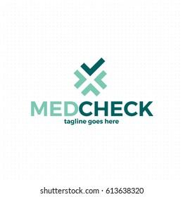 Medical cross logo template. Corporate branding identity. Vector logotype