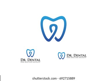 Medical Dental Health Logo Template Vector Icon