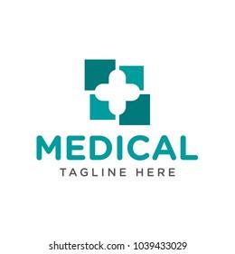 medical design logo template