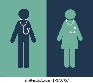 medical design over blue  background vector illustration
