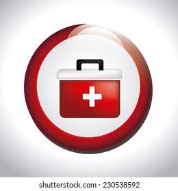 Medical design over white background,vector illustration