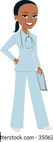 Medical doctor nurse girl - MOre on this collection