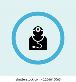 medical doctor specialist icon symbol. Premium quality isolated medical doctor specialist vector icon in trendy style. medical doctor specialist element.