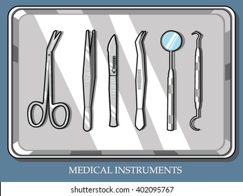 Medical equipment set