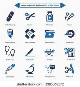 Medical Equipment & Supplies (Blue Version) - Set 2