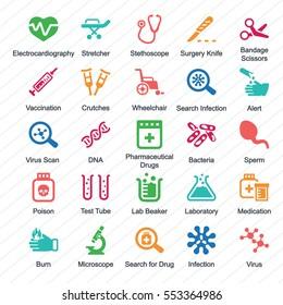 Medical Equipment & Supplies (Color Series) - Set 1
