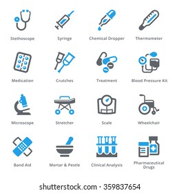 Medical Equipment & Supplies Icons Set 1 - Sympa Series