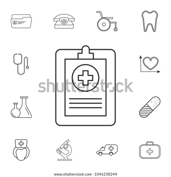 picture relating to Free Medical Forms.com titled Clinical Kinds Health care Certification Icon Extensive Inventory Vector