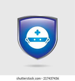 medical graphic design. Vector illustration.