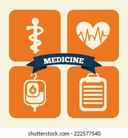 medical graphic design , vector illustration