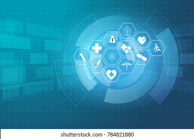 medical health care science innovation concept pattern background