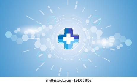 medical health care scienceinnovation concept eps 10 vector