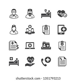 Medical & Health Care Services Icons - Set 2