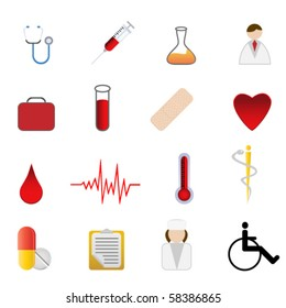 Medical and health care symbols