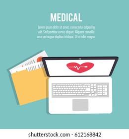 medical health care technology folder file