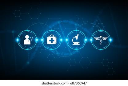 medical health care timeline diagnostics processing