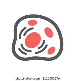 Medical & Healthcare - Cytoplasm Icon