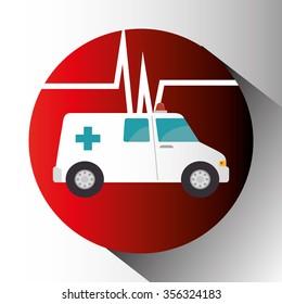 Medical healthcare grapic design, vector illustration eps10