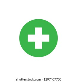 Medical healthcare icon graphic design template vector isolated