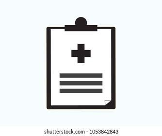 Medical history vector illustration