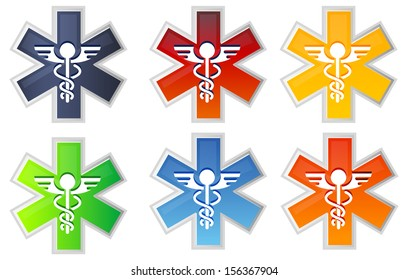 Medical Icon - Caduceus - Illustration