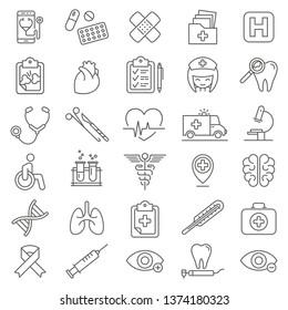 Medical Icon Set