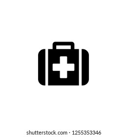 medical icon vector. medical vector graphic illustration