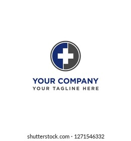 medical icon vector logo template