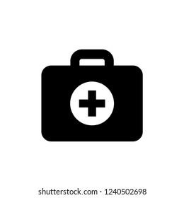 medical kit icon template