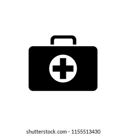 medical kit icon vector template
