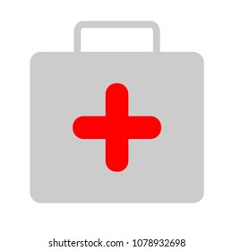 medical kit - vector doctor case illustration, health care - medical case