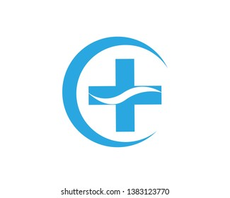 medical logo design template - Vector