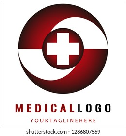 Medical Logo Design Vector eps10