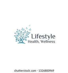 Medical logo, health and wellness