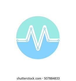 Medical logo letter M