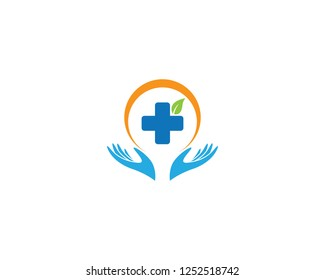 Medical logo template illustration