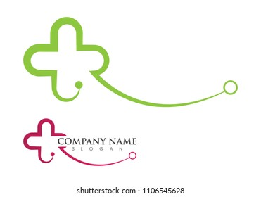 Medical Logo template vector illustration design