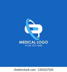 Medical Logo Vector Template Design Illustration