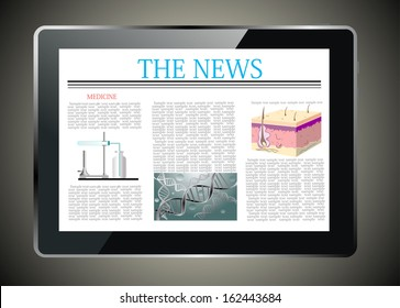 Medical news on generic Tablet PC.