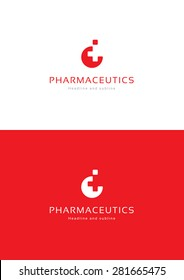 Medical pharmacy logo template.