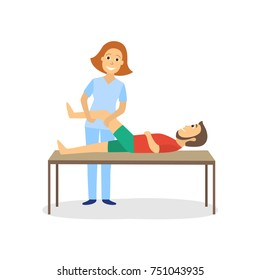 Physical Therapy Cartoon Images Stock Photos Vectors Shutterstock