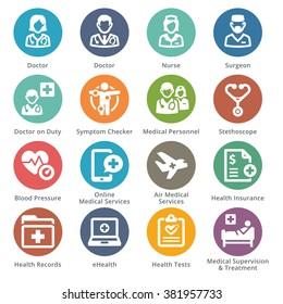 Medical Services Icons Set 2 - Sympa Series | Dots
