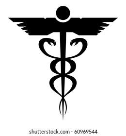 medical symbolsgraphic illustration six medical symbols stock vector rh shutterstock com Optometry Symbol Optometry Hearts